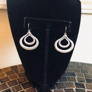 Sterling silver Fossil earrings